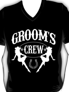 Old West Bachelor Party - Groom's Crew Version T-Shirt