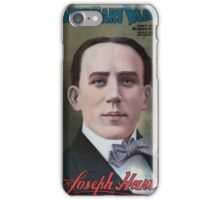 Performing Arts Posters Joseph Hart Vaudeville Co direct from Weber Fields Music Hall New York City 0432 iPhone Case/Skin