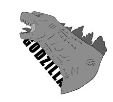 godzilla greyscale w/ text by sosidgerolls