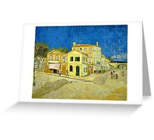 Vincent Van Gogh -  Yellow House, ` Street, September 1888 - 1888  Greeting Card