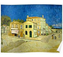 Vincent Van Gogh -  Yellow House, ` Street, September 1888 - 1888  Poster