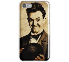 Stan Laurel Vintage Hollywood Actor Comedian iPhone Case/Skin