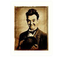 Stan Laurel Vintage Hollywood Actor Comedian Art Print