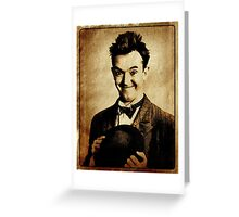 Stan Laurel Vintage Hollywood Actor Comedian Greeting Card