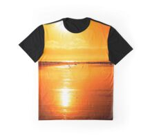 rod on a sunset beach Graphic T-Shirt