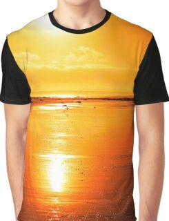 rod on a sunset beach Graphic T-Shirt