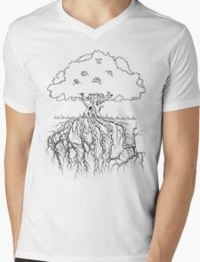 Family Tree Mens V-Neck T-Shirt