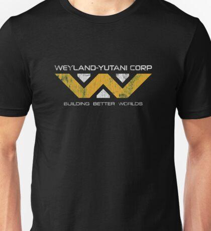 Weyland Yutani - Distressed Yellow/White Variant Unisex T-Shirt