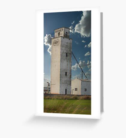 Towering... Greeting Card