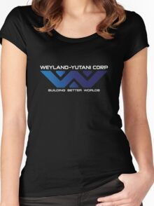 Weyland Yutani - Gradient Logo Women's Fitted Scoop T-Shirt