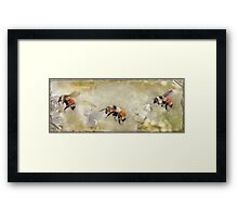 Dance Of The Bumble Bees Framed Print