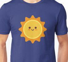 Happy Smiling Sun Emoticon Unisex T-Shirt