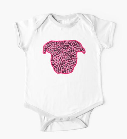Leopard Pit Bull One Piece - Short Sleeve