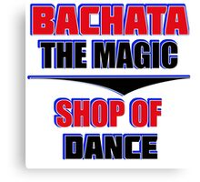 Bachata dance design Canvas Print