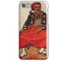 Vincent Van Gogh - Seated Zouave, 1888 01 iPhone Case/Skin