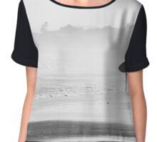 The Search For Waves  Chiffon Top