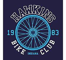 Hawkins Bike Club Photographic Print