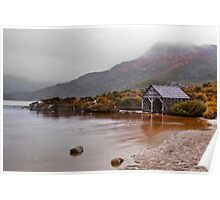 The Boathouse at Cradle Mountain Poster