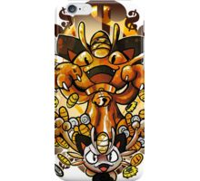 MEOWTH OF BOUNTY iPhone Case/Skin