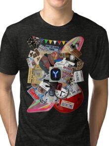 Back to the Future Trilogy MIX Tri-blend T-Shirt