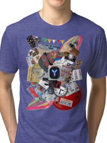 Back to the Future Trilogy MIX Tri-blend T-Shirt