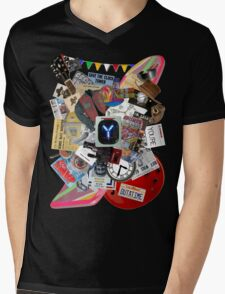 Back to the Future Trilogy MIX Mens V-Neck T-Shirt