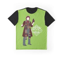 Doctor Who No. 4 Tom Baker - T-shirt Graphic T-Shirt