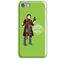 Doctor Who No. 4 Tom Baker - T-shirt iPhone Case/Skin