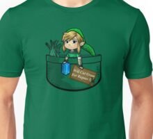 "Zelda ""Will Cut Grass For Rupees"" Unisex T-Shirt"
