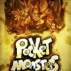 CAPSULE MONSTERS / POCKET MONSTERS POSTER by Iris-sempi