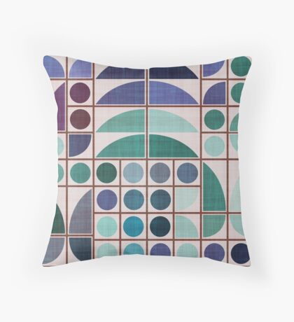 MCM Brutalist Throw Pillow