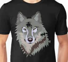 Wolf Face, Art Unisex T-Shirt