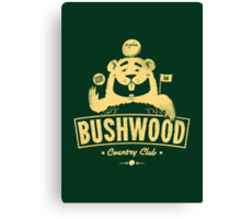 Bushwood (Light) Canvas Print