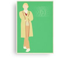 Doctor Who No. 5 Peter Davidson - Poster & stickers Canvas Print