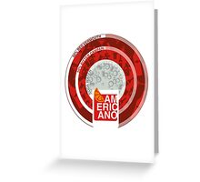 AMERICANO Greeting Card