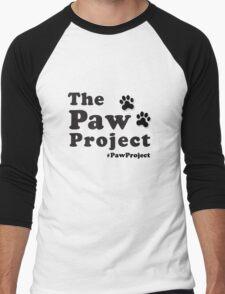 The Paw Project Logo Men's Baseball ¾ T-Shirt