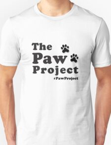 The Paw Project Logo Unisex T-Shirt