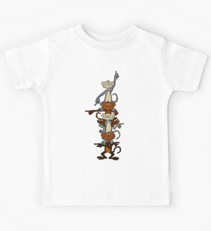 Totem Pole Monkeys Kids Clothes