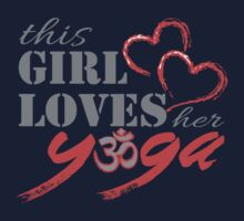 This Girl Loves her YOGA One Piece - Short Sleeve