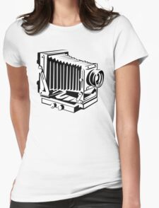 Vintage Camera 1 Womens Fitted T-Shirt