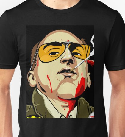 Taxi Driver Fear And Loathing In Las Vegas Unisex T-Shirt