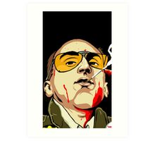 Taxi Driver Fear And Loathing In Las Vegas Art Print