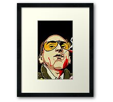 Taxi Driver Fear And Loathing In Las Vegas Framed Print