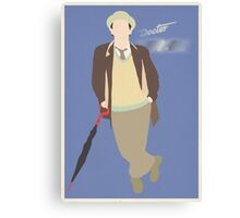 Doctor Who No. 7 Sylvester McCoy - Poster & stickers Canvas Print