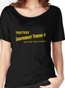 Trotters Indipendent Tradings Funny Only Fool And Horses TV Women's Relaxed Fit T-Shirt