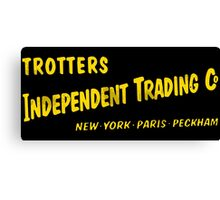 Trotters Indipendent Tradings Funny Only Fool And Horses TV Canvas Print