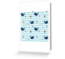Nautical, Nautical, very Nautical. Greeting Card