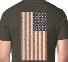 American, Flag, Stars & Stripes, Portrait, CRUSTY, RUSTY,  Unisex T-Shirt