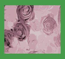 Pink roses Kids Tee