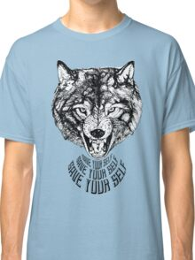 Save Your Self - Wolf Classic T-Shirt